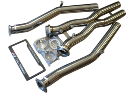 Chevy Corvette C5 Base 5.7L LS1 Z06 LS6 97-04 Performance Cross X Pipe