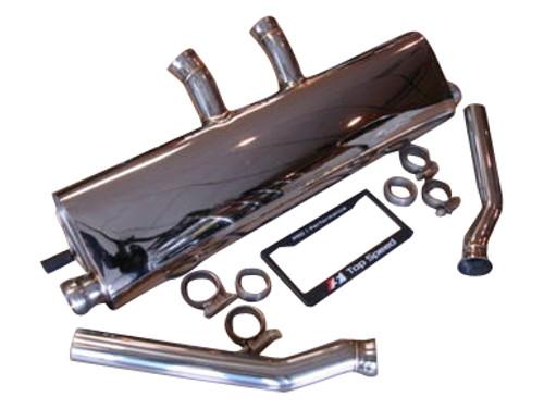Porsche Cayenne 3.6L V6 V8 S V8 Turbo 11-14 Rear Section Exhaust Systems