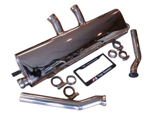 Porsche Cayenne 3.6L V6 V8 S V8 Turbo 11-14 Rear Section Exhaust Systems