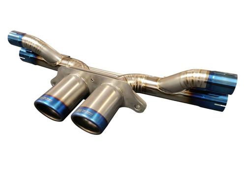 Top Speed Pro1 Porsche GT3 GT3RS Exhaust Bypass System + Ti Tip Full Titanium