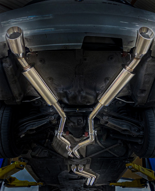 BMW E90 E92 335i Coupe Sedan  07-11 RS Spec Exhaust System + Mid Pipes