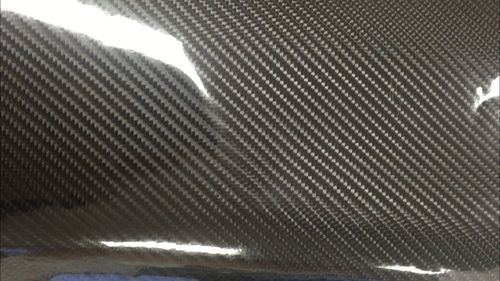 "4D Carbon Fiber Top Speed Pro-1 Vinyl Wrap Glossy 39"" x 60"" Interior Exterior Wrap"
