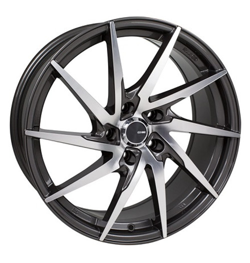 Enkei Performance Series PW10 Gunmetal Machined