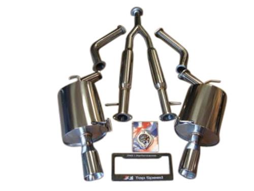 Infiniti M37 Sedan 11-13 Top Speed Pro-1 Exhaust System Bevel Tips