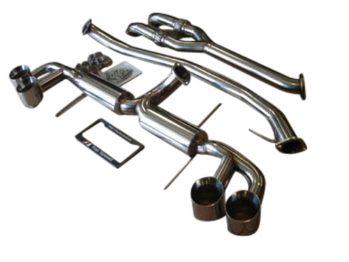 """For Nissan GTR R35 09-16 TOP SPEED PRO-1 3"""" Exhaust System w/ Y-Pipe"""