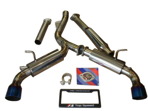 Scion FRS Subaru BRZ Toyota GT86 13-16 TOP SPEED PRO-1 Titanium Exhaust System