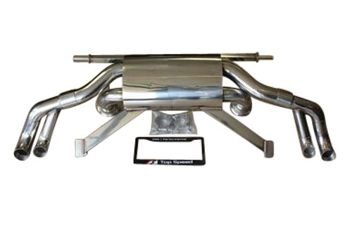 AUDI R8 5.2L V10 09-13 T304 Rear Section Performance Race Spec Exhaust System