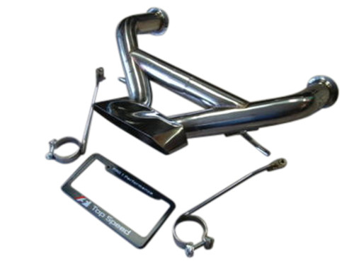 Lamborghini Aventador LP700-4 76mm T304 Stainless STRAIGHT PIPE Exhaust System