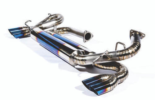 Acura NSX 91-96 TOP SPEED PRO-1 100% Full Titanium Exhaust Quad 76mm Tips