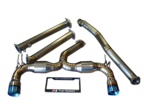 Mitsubishi Lancer Evolution 10 EVO-X 08-15 Full Titanium Exhaust System Systems