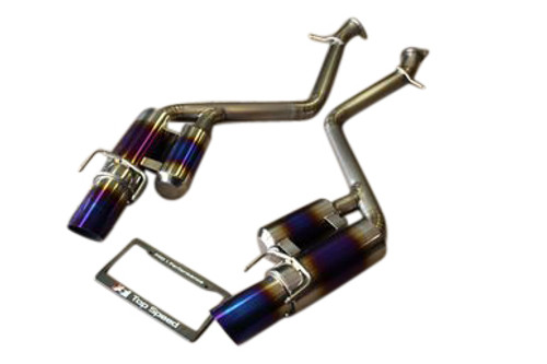 Lexus RC350 Coupe 15-18 Top Speed Pro-1 Full Titanium Axle-Back Exhaust System