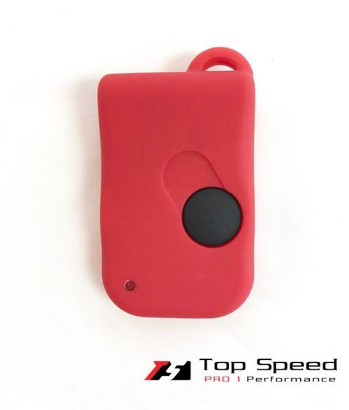 Ferrari 355 360 550 575 Remote Fob Cover Replacement Soft Touch Coat Matte Red
