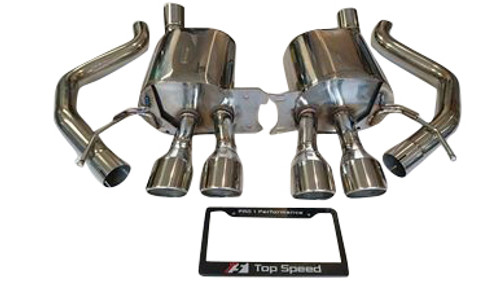 Chevrolet Corvette Stingray C7 6.2L 14-18 Axle Back Exhaust Systems