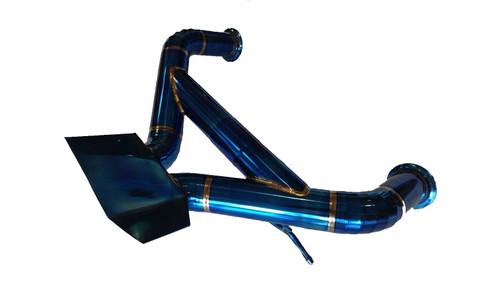 Lamborghini Aventador LP700-4 Full Blue Titanium Straight Pipe Exhaust System