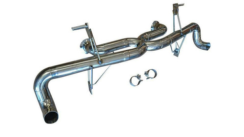 AUDI R8 5.2L V10 09-12 TOP SPEED PRO-1 Race Spec Straight X-Pipe Exhaust System