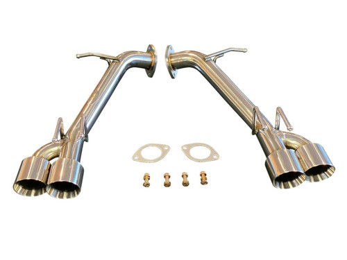 Top Speed Pro1 Toyota Camry 2.5L 3.5L 18-20 Straight Pipe Axle-Back Exhaust