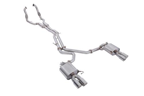 Adaptive Valvetronic Stainless Steel Exhaust + OBD II Remote Audi S4/S5 B9 3.0T 2017-2019 (AVT-AUDI S4/S5 B9 3.0T-SS)