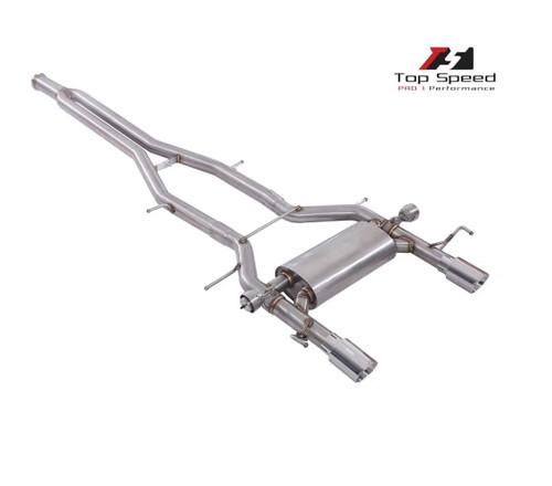 Adaptive Valvetronic Stainless Steel Exhaust + OBD II Remote Cadillac ATS/ATS-L 2.0T 2013+ (AVT-ATS/ATS-L 2.0T(2013+)-SS)