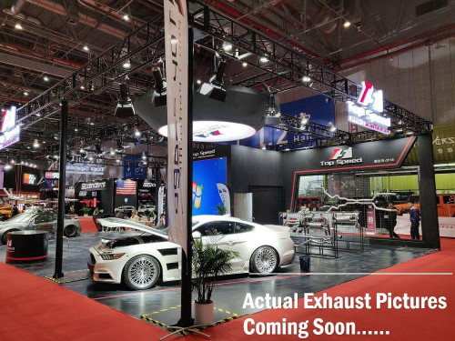 Adaptive Valvetronic Titanium Exhaust + OBD II Remote Jaguar V6/V6S 2014-UP (Center Exit Tips) (AVT-JAGUAR F-TYPE V6/V6S-Ti)