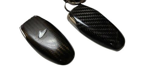McLaren MP4-12C 650S 675LT Carbon Fiber Remote Key Fob Cover Replacement