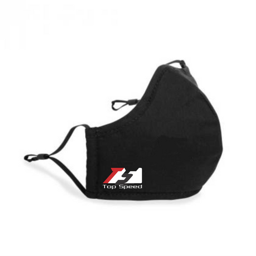 Top Speed Pro1 Reusable Face Mask with Toggle Straps