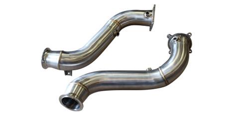 McLaren 720S 4.0T V8 18-21 Straight Turbo Down Pipes