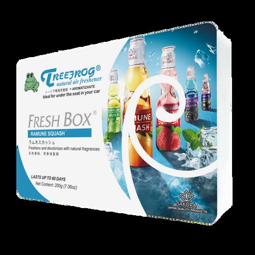 Treefrog Fresh Box Car Fragrance Car Air Freshener  Ramune Squash