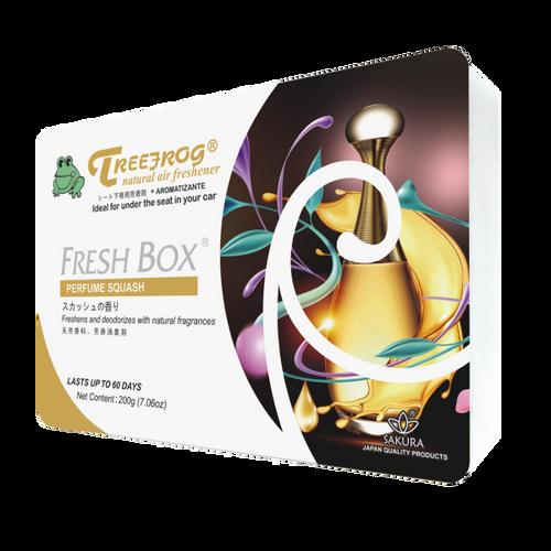 Treefrog Fresh Box Car Fragrance Car Air Freshener  Perfume Squash
