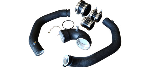 BMW F80 M3 & F82 M4 S55 2015-2020 AIR INTAKE CHARGE PIPES & ELBOW KIT (3 PCS.)