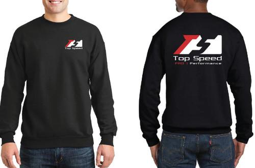 Top Speed Pro-1 Performance Black Sweatshirt