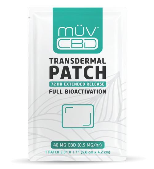 MUV CBD Transdermal Patch 40mg