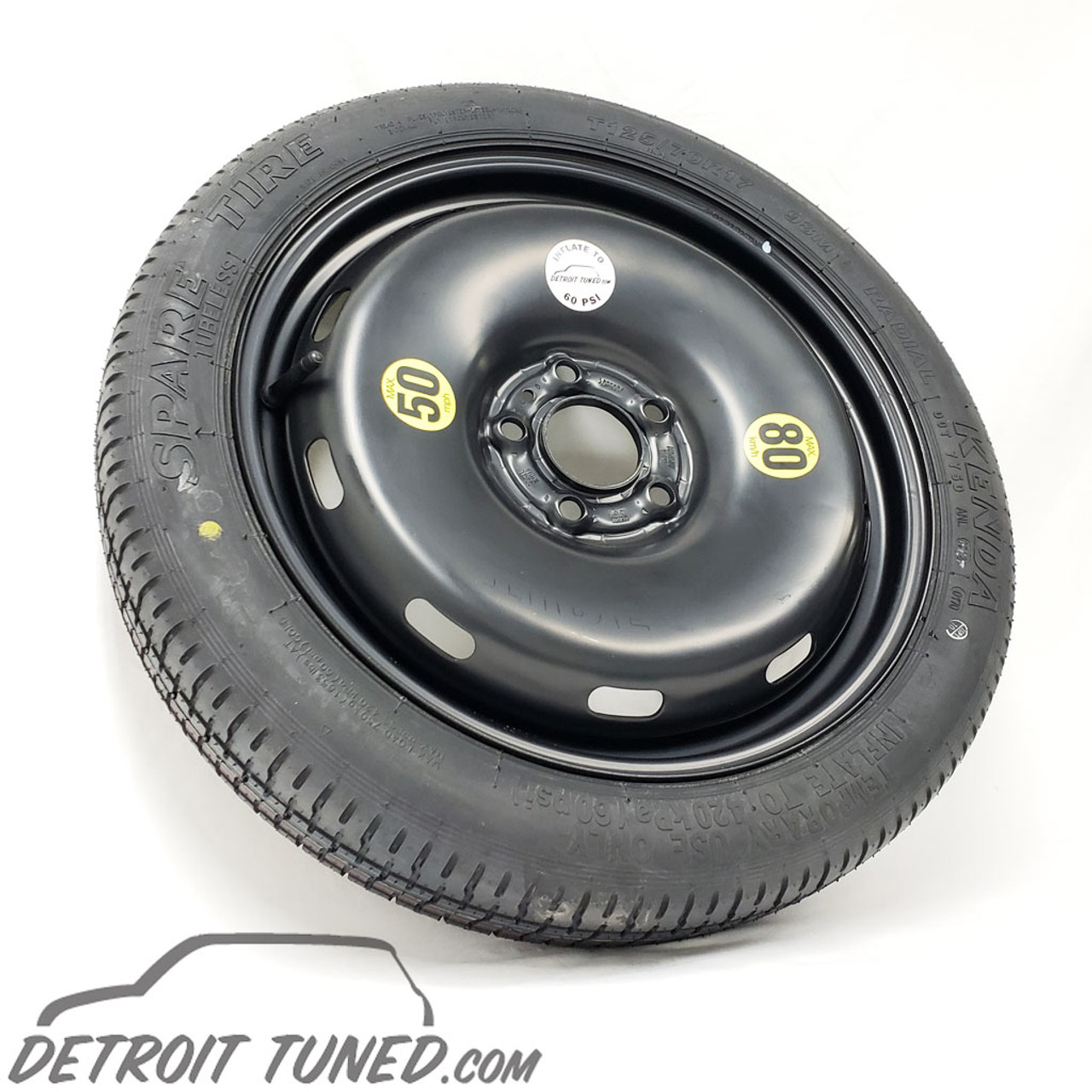 Mini Cooper Spare Tire >> Mini Cooper F60 Countryman Spare Tire 5 Lug