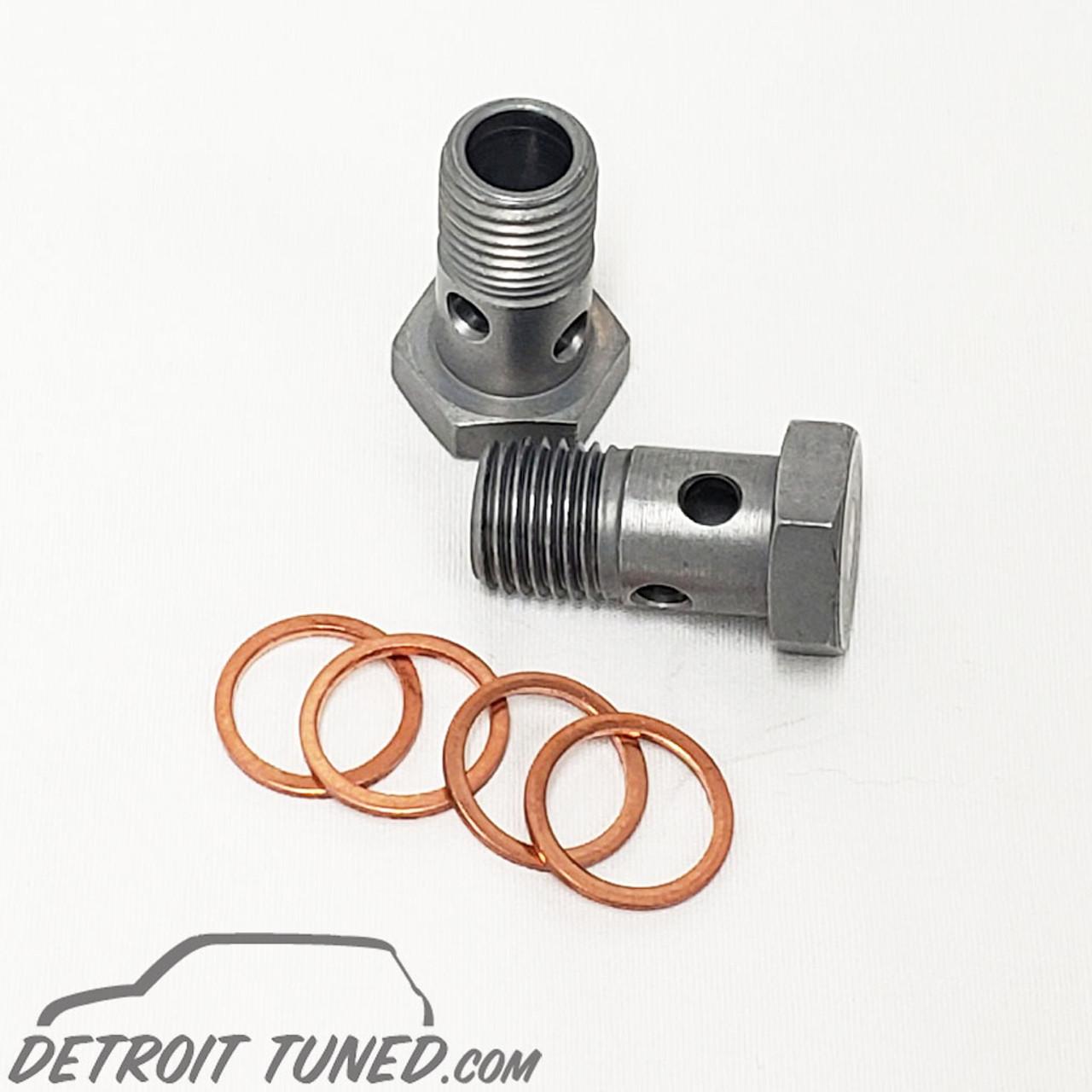 Mini Cooper S Turbo Coolant Line Banjo Bolts