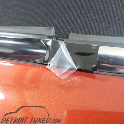 The Premium Beltline Specialist Mini Blackout deChrome Belt Line Kit All Models