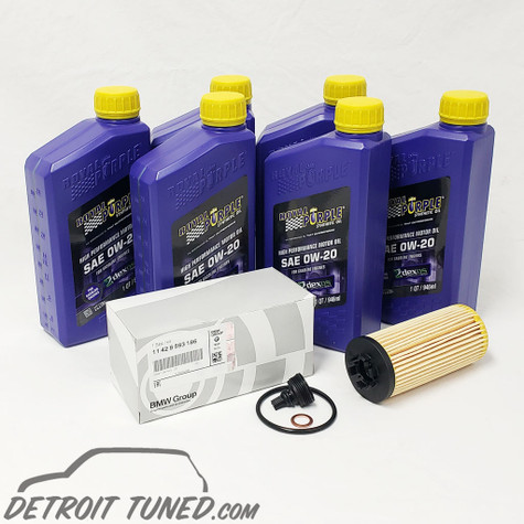 Oil Change Kit - Gen 3 0w-20 Late