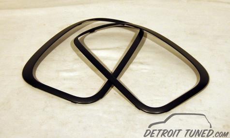 MINI R60 Tail Light Black Trim Rings