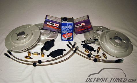 Detroit Tuned Stage 1.5 Brake Kit Gen 1