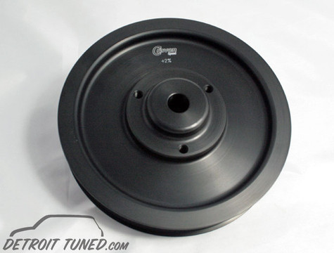 Detroit Tuned 2% Crank Pulley