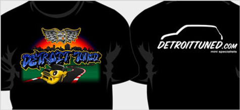 Detroit Tuned Limited Edition Wall Art T-Shirt, Sweatshirt & Hoodie