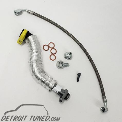 Detroit Tuned Turbo Oil Line KIT