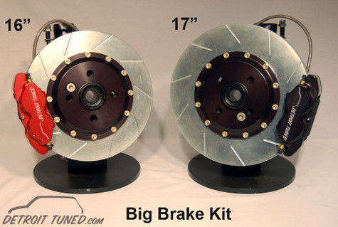 Detroit Tuned Big Brake Kit