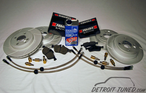 Detroit Tuned Stage 2 Brake Kit Gen 1