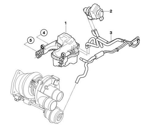MINI Cooper S Pressure Converter Valve