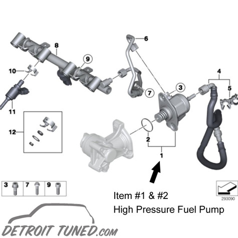 MINI Cooper S N18 High Pressure Fuel Pump