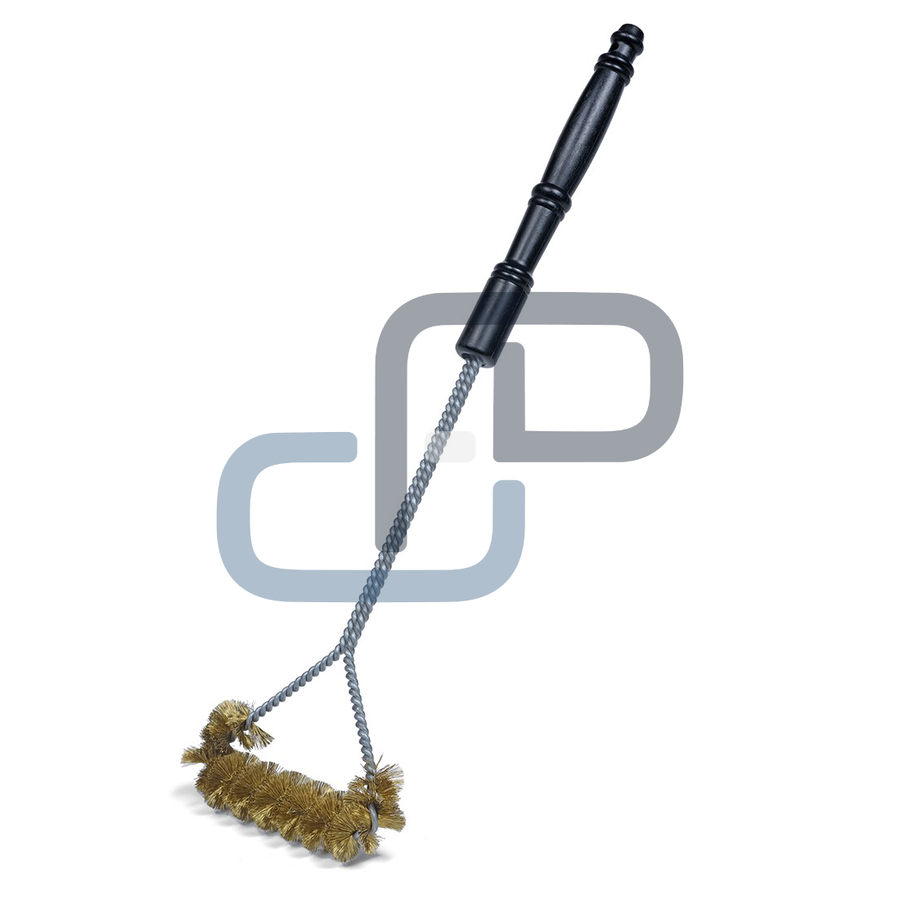 """B308C - 21"""" Spiral Wide Faced Heavy Duty Grill Brush"""
