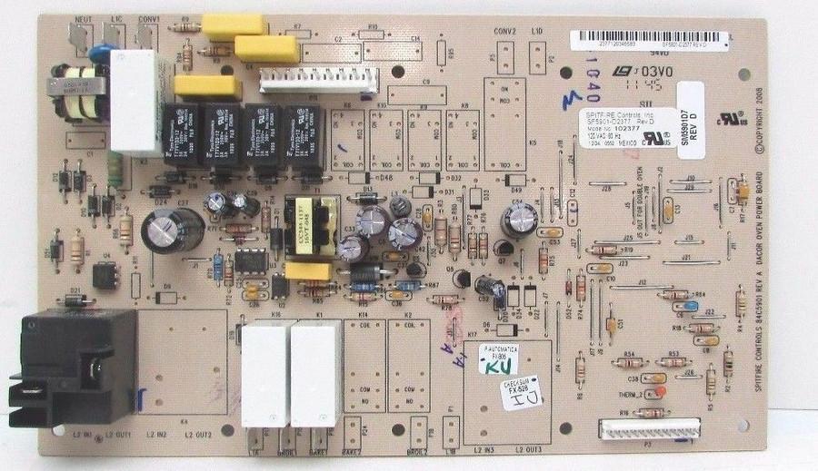 Dacor 102377 - Relay Board, Sngl Wall - DC 102377.JPG