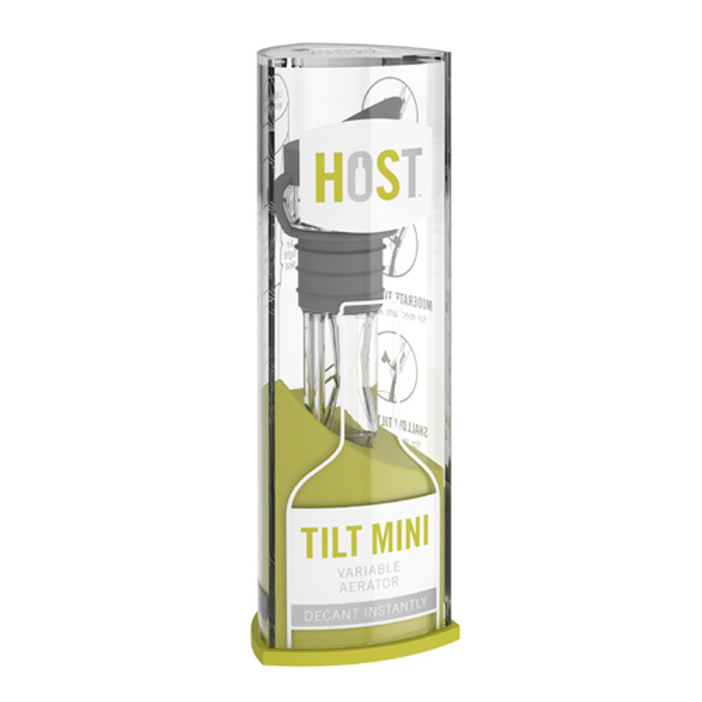 TILT™ MINI Variable Aerator in Acrylic Case by HOST®