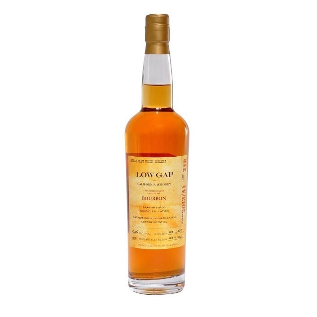 Low Gap Straight Bourbon