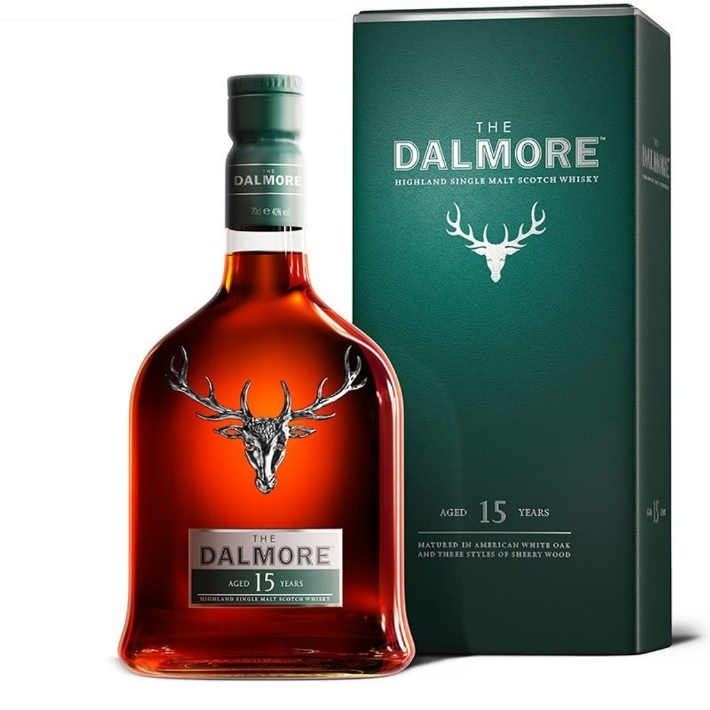 The Dalmore 15 Year Highland Single Malt Scotch Whisky