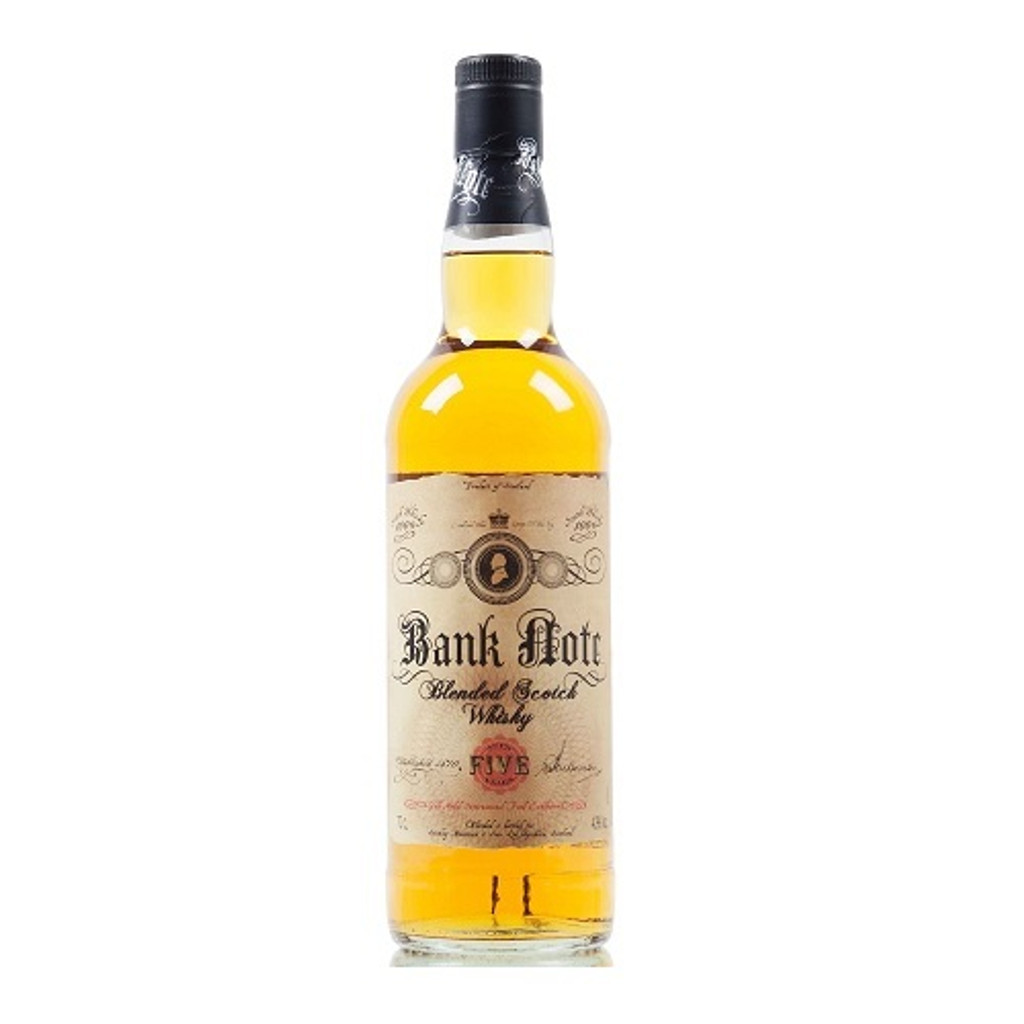 Bank Note 5 Year Blended Scotch Whisky